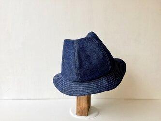 ABOA HAT | ONEWASH 8oz KOJIMADENIM 大きめLサイズ~61cmの画像