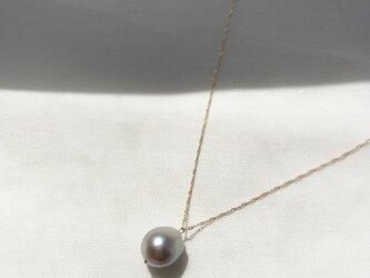 【K14GF】Tahitian Baroque Pearl Necklaceの画像