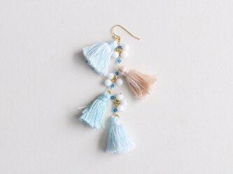 SUMMER tassels earring(片耳)の画像