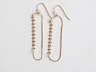 よつば earrings shortの画像