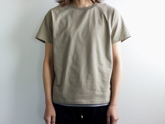 """""""comfortable clothes""""プリントTシャツ/covered grayの画像"""
