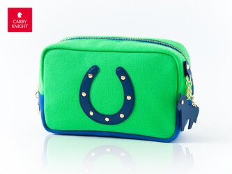HORSESHOE CASE〈Green × Navy〉の画像