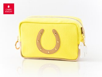 HORSESHOE CASE〈Yellow × Beige〉の画像