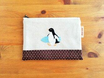 【夏季限定販売 8/31まで】ペンギンの夏ポーチの画像