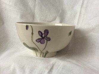 『北欧風 パンジー2』のお茶碗の画像