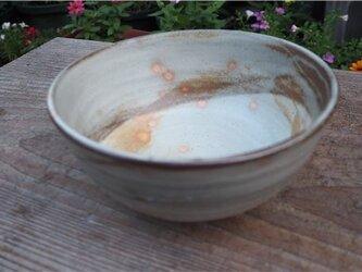 粉引の大きい丼鉢[18July-1]《灰釉》の画像