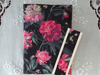 リバティプリント B6・四六判 (Decadent Blooms)の画像