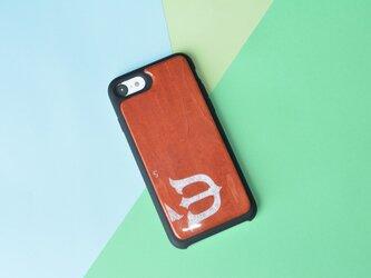 【即納】iPhone8ケース アイフォンケース スケートボード 木製 木目 高品質 職人手作り 薄型の画像