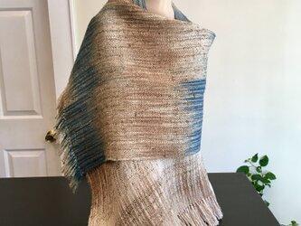 手織り絣・シルクスカーフの画像