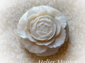 ソープカービング さわやかなバラの作品の画像