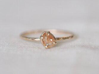 Baby Peach Diamond Ringの画像