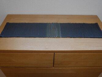 裂織 テーブルランナー 草木染  ☆送料無料【016】の画像