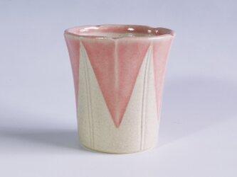 朝顔カップ  ピンクの画像