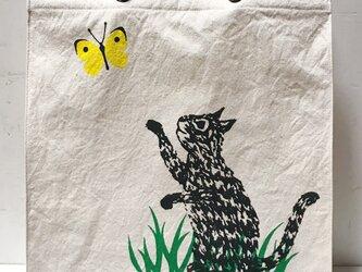 rope handle bag - catの画像