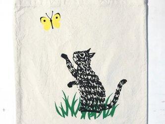 totebag - cat (綿)の画像