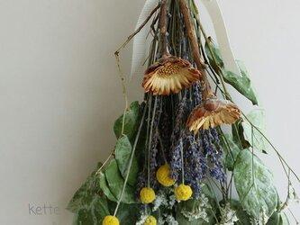 優しい風シリーズ お花畑のスワッグ♪の画像
