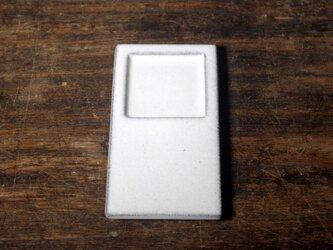 【マスプレート□】トレイ 白妙 ピクセルプレート Macintosh風の画像