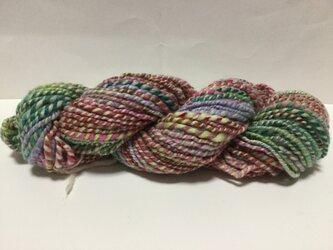 【手紡ぎ糸(スピンドル)の販売です】  メリノウール 69gの画像
