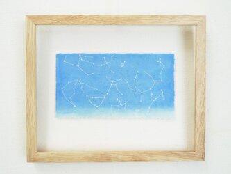 《受注制作》スカイブルーの空に夏の星座きらめくの画像