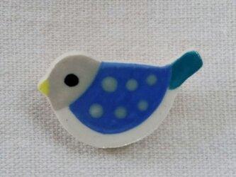 小鳥ブローチの画像