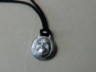 オランウータンのペンダント(丸)の画像