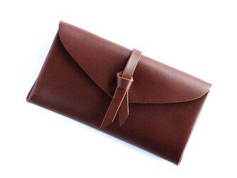 折りロングウォレット マグネットver#ブラウン / ori long wallet #brownの画像