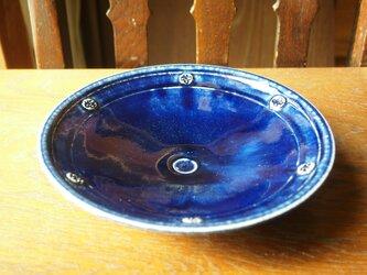 zao blue  印花鉢 5の画像