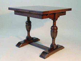 ドローリーフテーブル 楢の画像