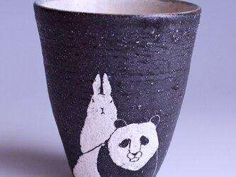 アニマルタンブラー(パンダ&ウサギ)の画像