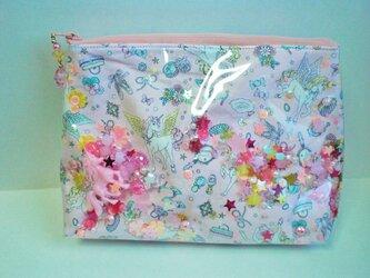 A様ご注文品 ビニールポーチ ペガサス ピンクの画像