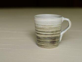 白と黒のマグカップ iMw-001の画像