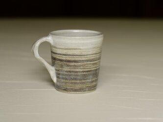 白と黒のマグカップ iMw-002の画像
