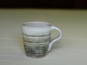 白と黒のマグカップ iMw-003の画像