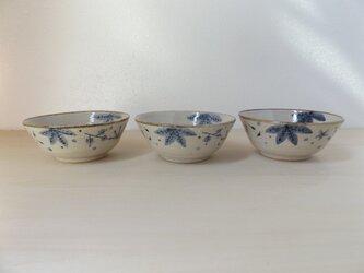 飯碗 青茶の葉(大)の画像