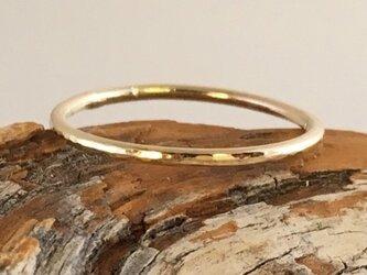 金の指輪◇K14の画像