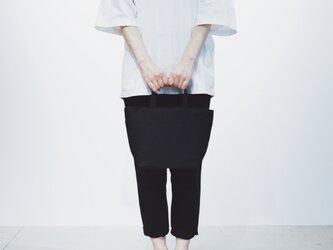 【廃盤20%OFF】SHIKAKU TOTE black (黒)の画像