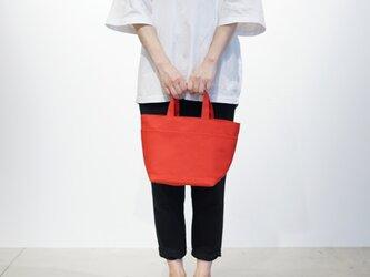 SHIKAKU TOTE red (赤)の画像