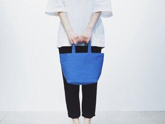 【廃盤20%OFF】SHIKAKU TOTE blue (ブルー)の画像