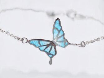 - 碧い蝶 - 七宝ブレスレット/プリカジュールの画像