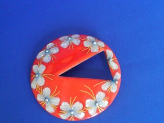 サンゴカラーブローチ,ペンダントの画像