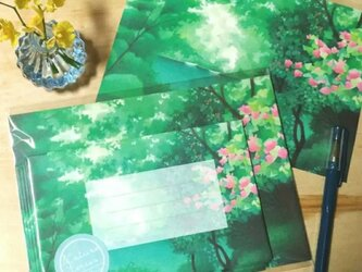 レターセット/保津川の画像