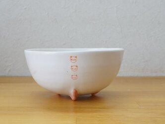 オレンジパンダロケット鉢 小の画像