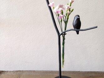 u様オーダー品 小鳥の一輪挿しの画像