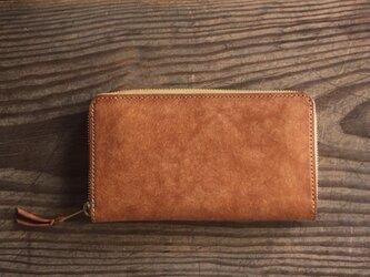 -alveare- round fastner long wallet 長財布 の画像