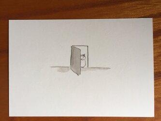 絵葉書/ポストカード <ドアの隙間>の画像