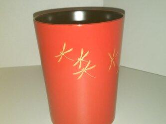トンボの漆塗りマグカップの画像