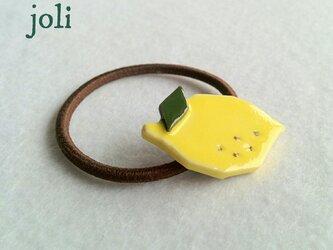 vivid lemonな ヘアゴムの画像
