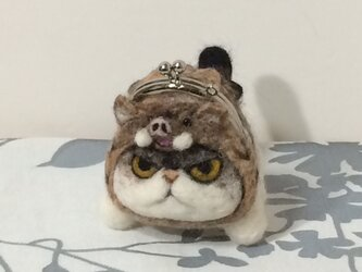 ☆十二支猫がま口  亥年の画像