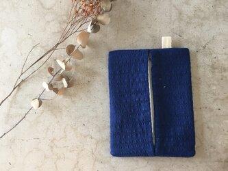 青色☆ポケットティッシュケース(461)の画像