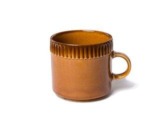 blur コーヒーカップM Brownの画像